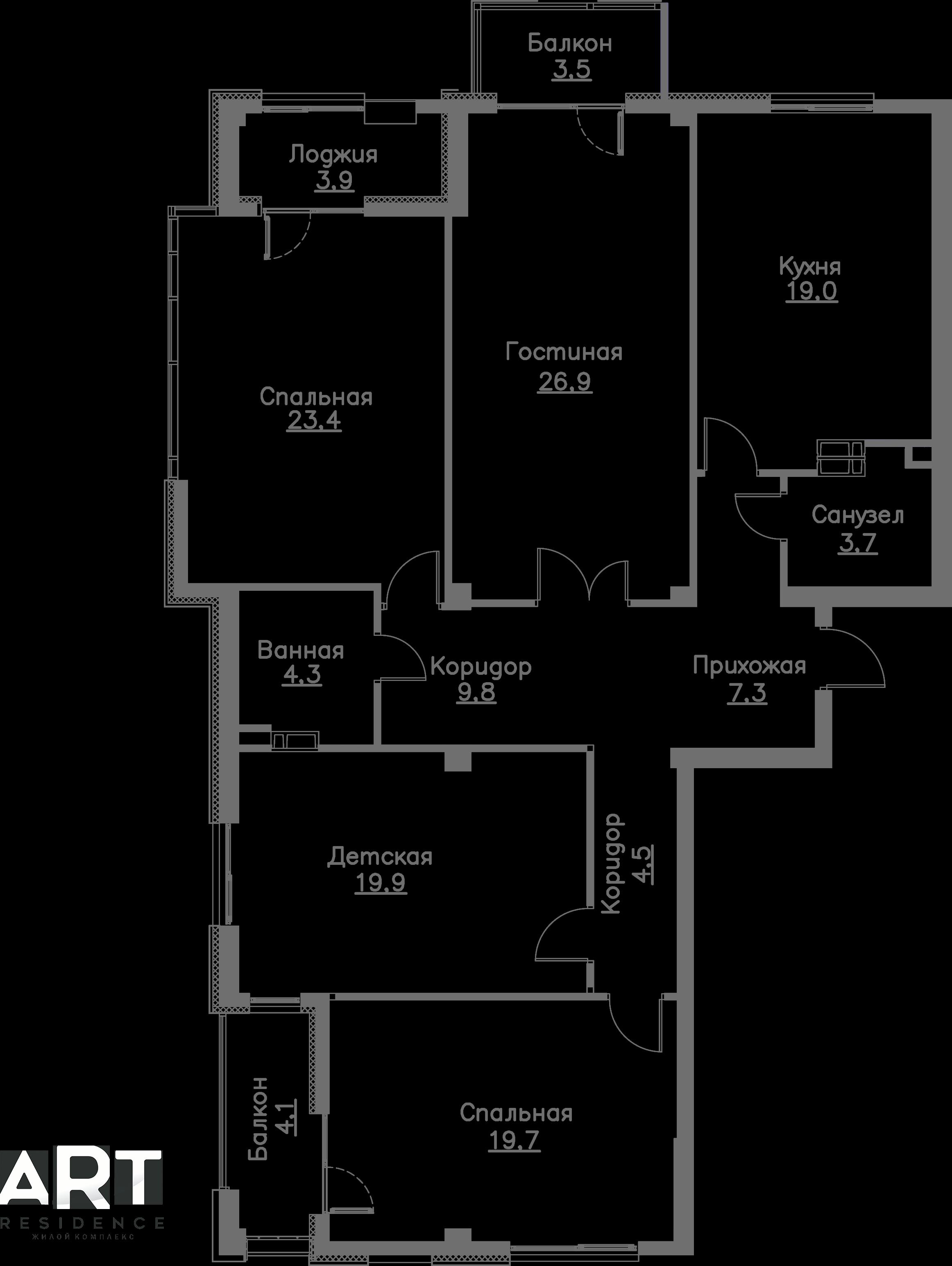 Очередь 2, Квартира 113