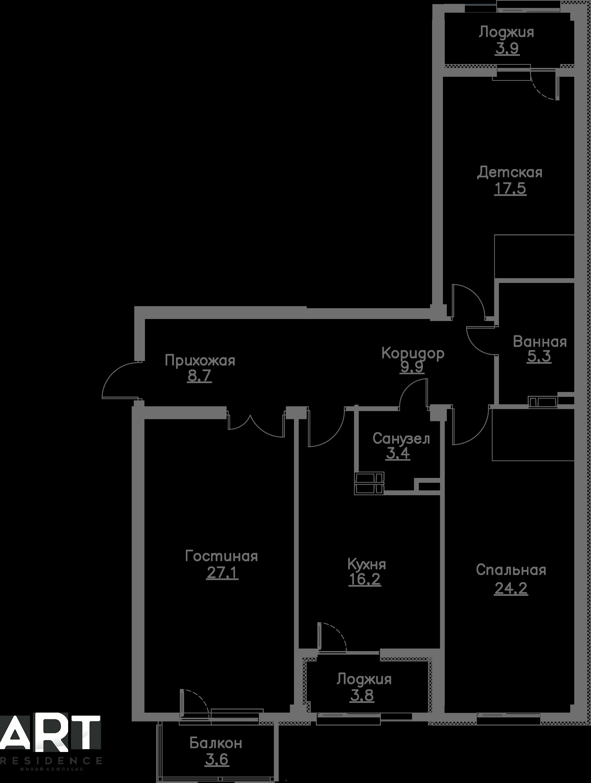 Очередь 2, Квартира 186