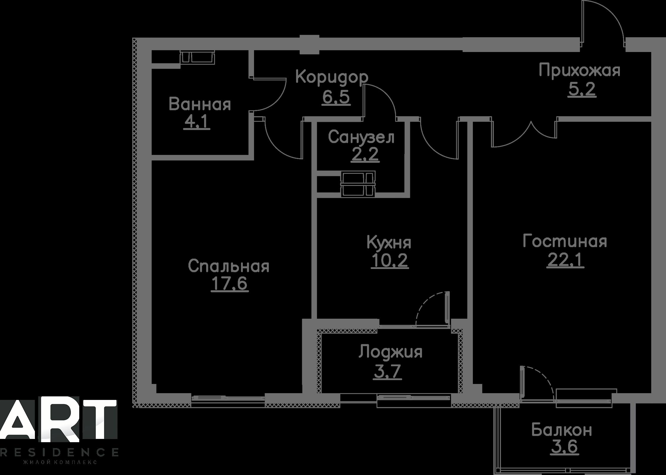 Очередь 2, Квартира 191