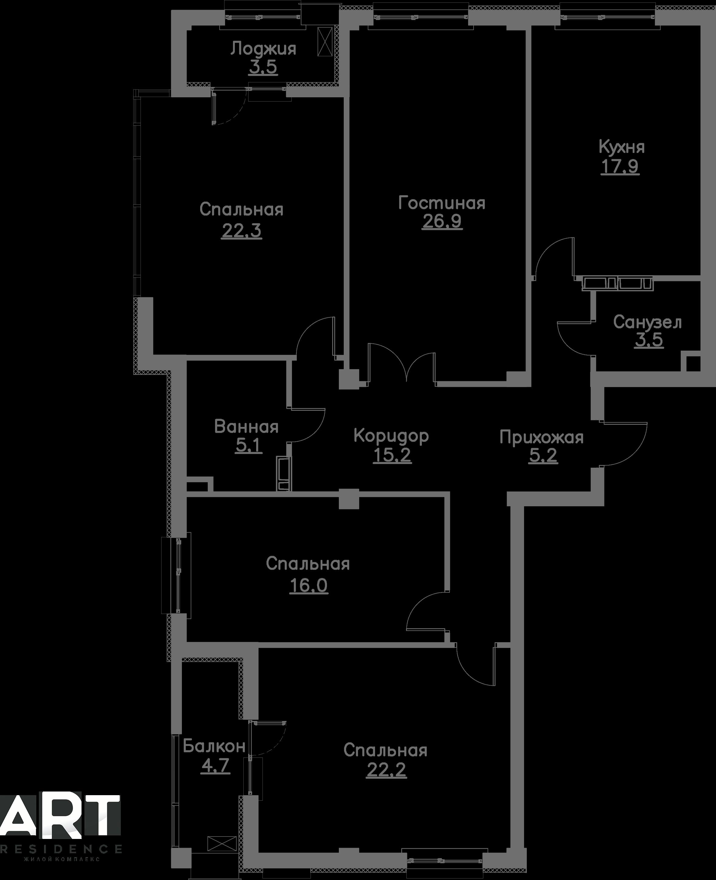 Очередь 1, Квартира 64