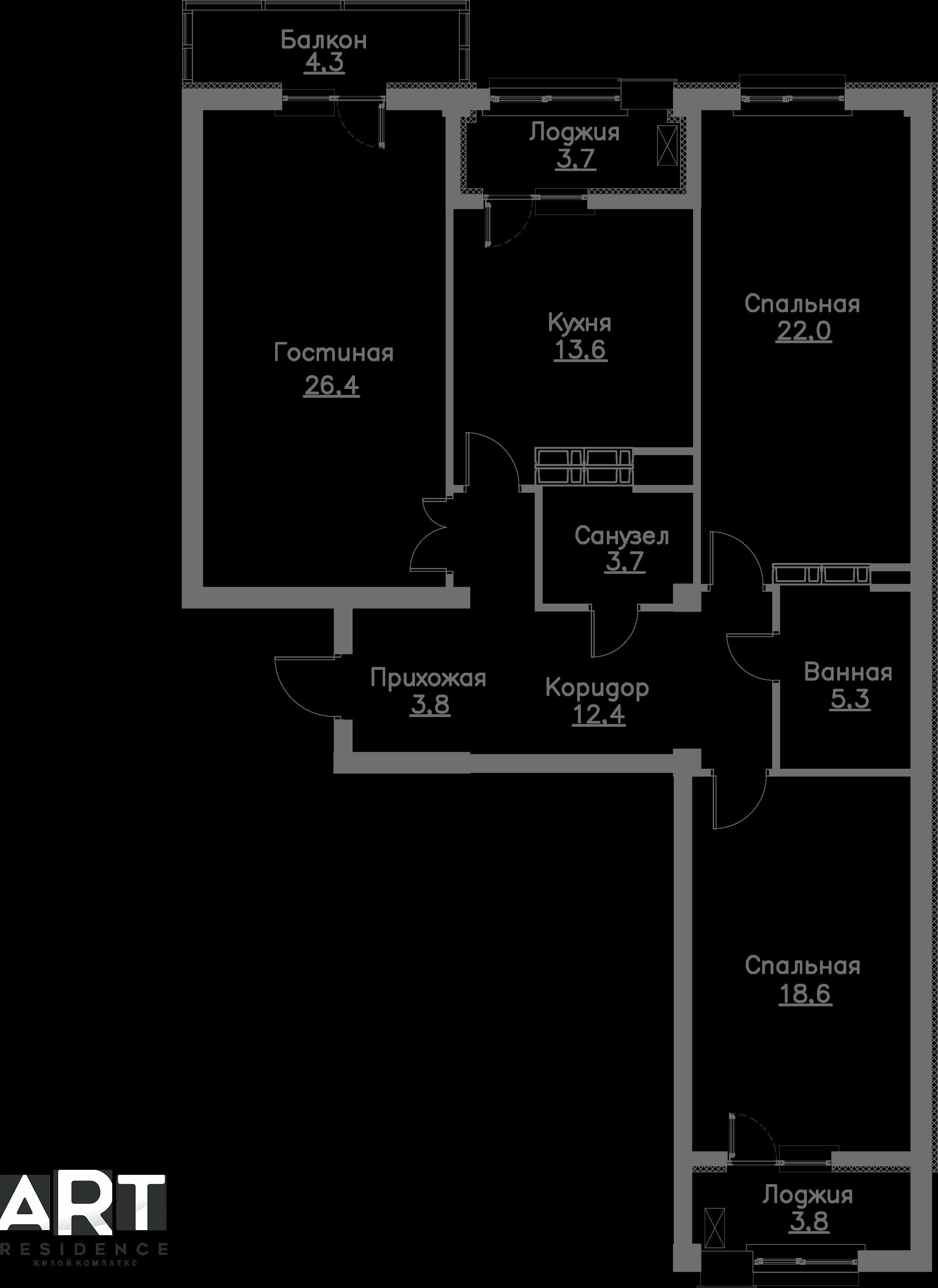 Очередь 1, Квартира 65