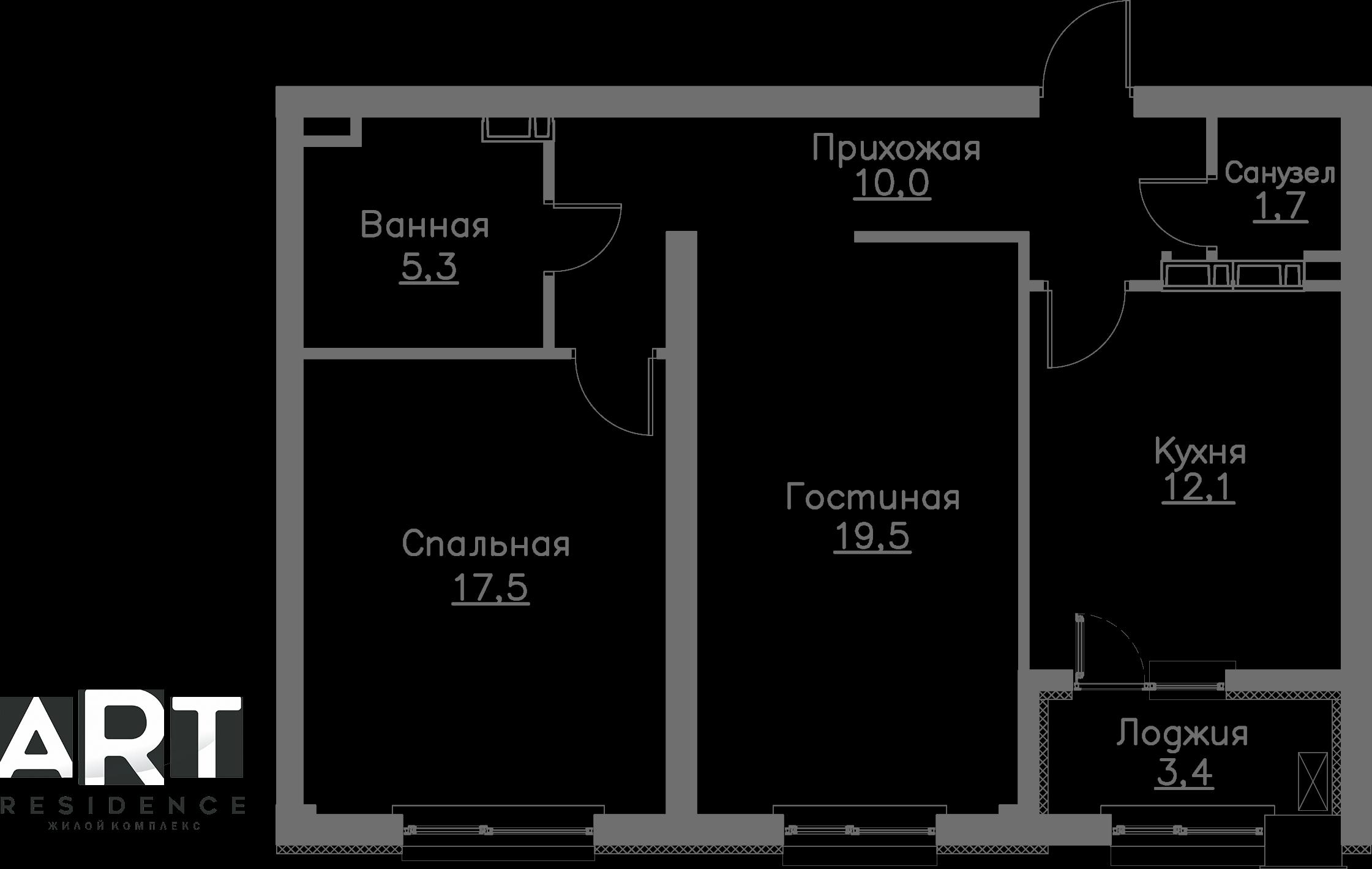 Кезең 1, Apartment 23